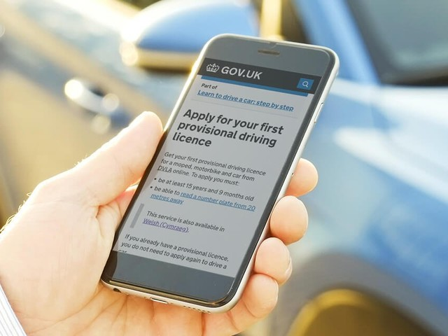 provisional driving licence online application