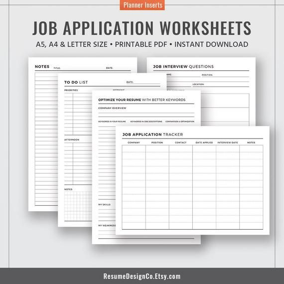 do job application have fees