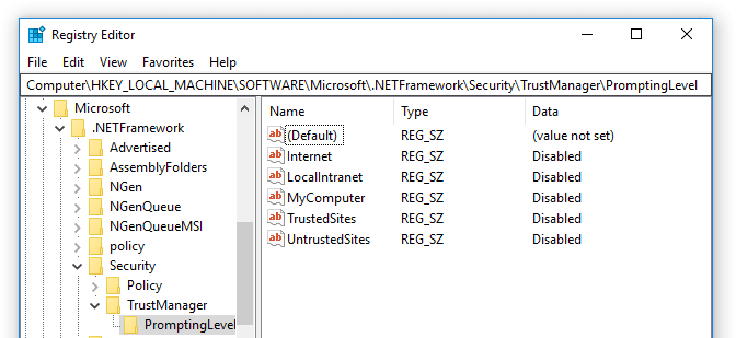 application level security in asp.net