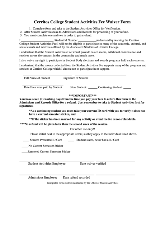 printable college application fee waiver