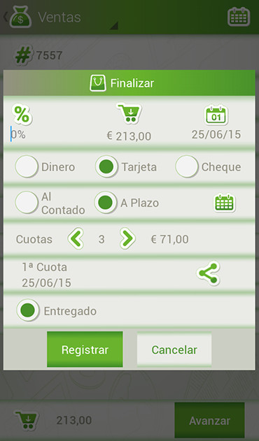 application android gestion stock alimentaire
