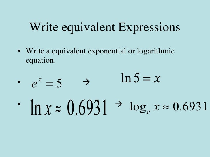 6.5 applications of logarithms