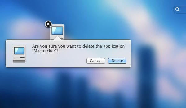 remove application from mac launchpad